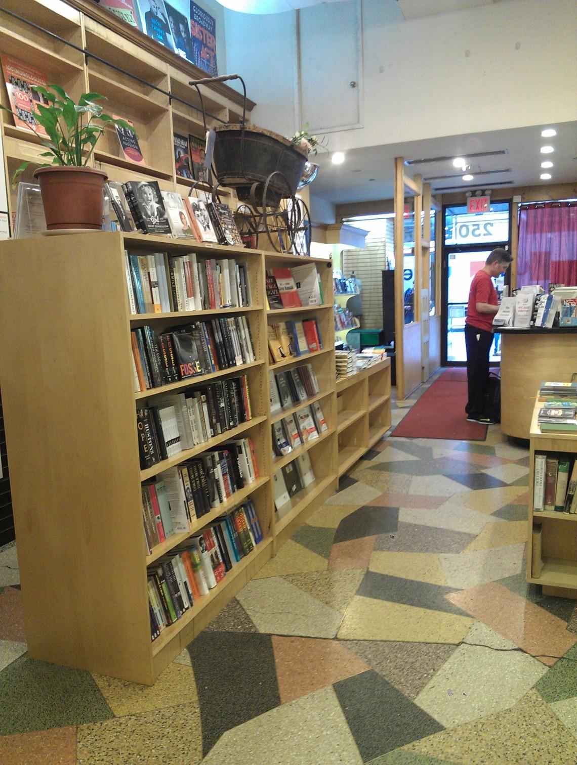 The Drama Bookshp indgang